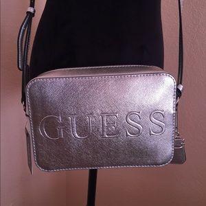 Guess metallic crossbody   Monogram mini purse